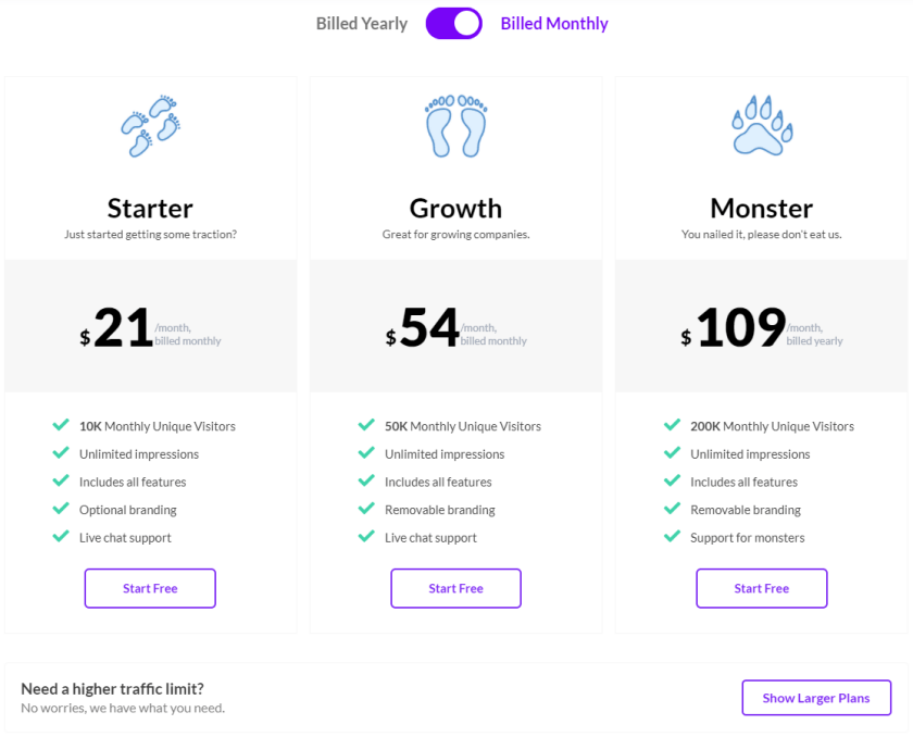 Provesource pricing